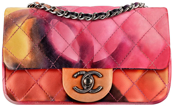 Adoring this colorful Chanel Limited Edition 2015 Flower Power Flap Bag!