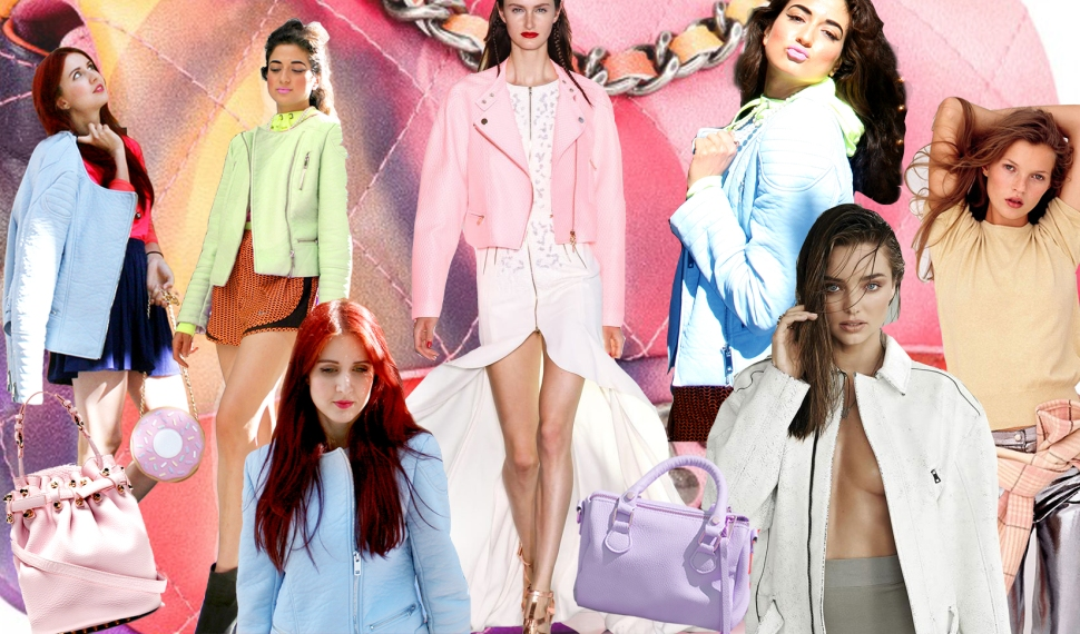Pastel Leather Summer Trend, Leather, Limited Edition Chanel Boy bag, fashion bloggers