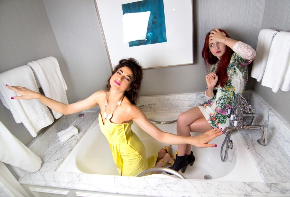 Asha Raval and Juliana Stoy