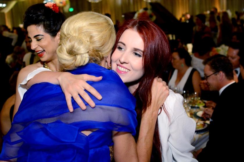 Karen Caldwell, Juliana Stoy, Patron's Dinner, SFS Gala, MTT,