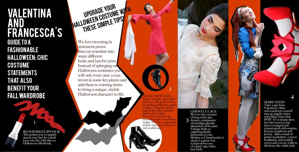 Halloween, Fashion, Bloggers, San Francisco, Asha Raval, Juliana Stoy, Style Tips, Wardrobe Tips, Style Guide
