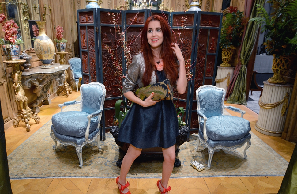 Galerie Steinitiz, de Gournay, Suzanna Tucker, Met Gala 2015, Ken Fulk, Fashion Blog, Fashion Bloggers, San Francisco Fall Antiques Show Preview Gala, SFFAS 2015, Style, Decor, Interior Design