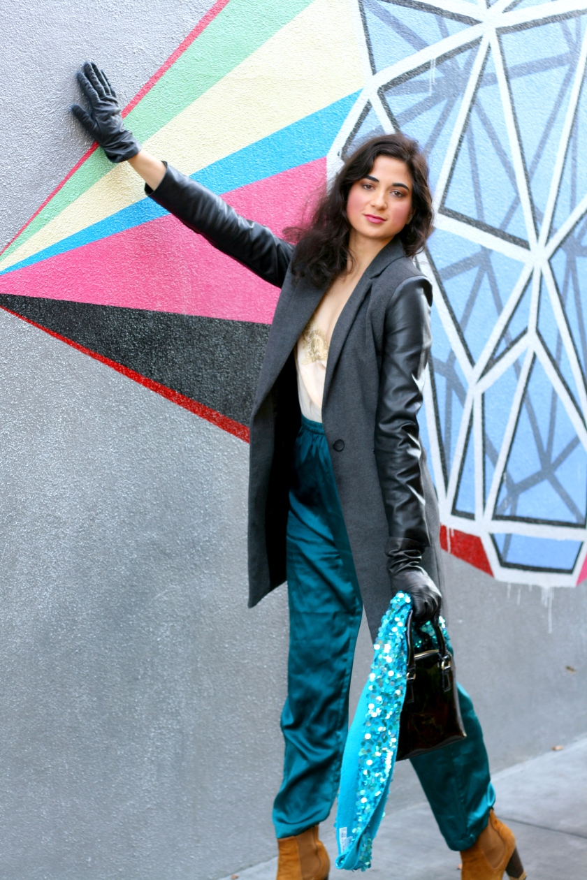 Bloggers, Fashion Bloggers, Winter Look, Palo Alto, California, Style, Juliana Stoy, Asha Raval, Minimal, Trina Turk,