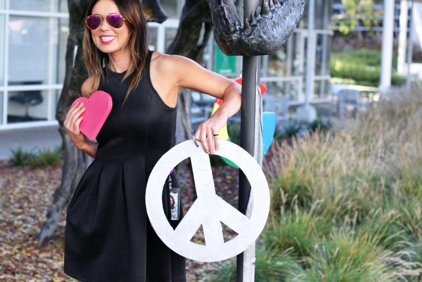 Shannon Snow, Fashion Designer, Googler, Fashion Design, Little Black Dress, San Francisco Fashion Blog, San Francisco Fashion Blogger, Silicon Valley Start Up, LeanIn, business casual for women, Jimmy Choo Shoe,