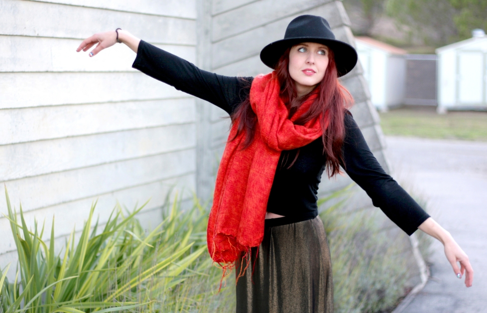 David Bowie Style, Fashion Blogger, San Francisco Bloggers, San Francisco Style, Betsy Johnson, Zara Shoes, Nike, Fedora Hat, Winter Style Essentials, San Francisco Street Style, Fearless Style, Fearless Fashion, David Bowie
