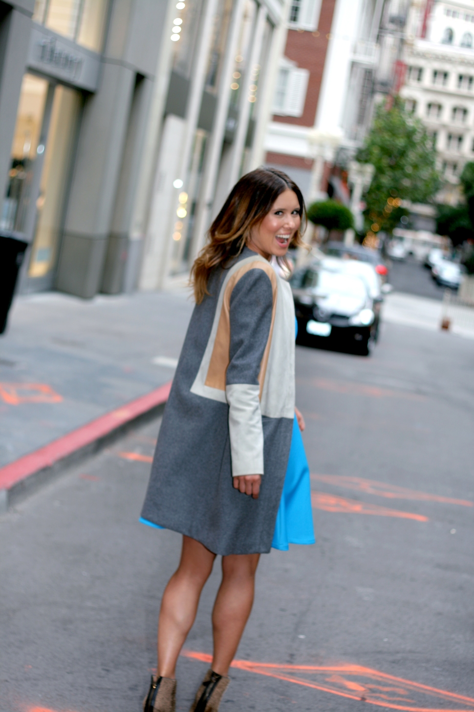 Shannon Snow, Fashion Designer, San Francisco Fashion, San Francisco Designer, Dress Designer, Workwear, Fashion Blogger, Fashion Designer Feature, San Francisco Style, Maiden Lane, Twitter Blue, Street Style,