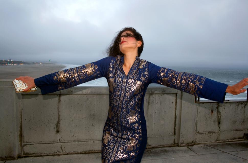 Fashion Bloggers, Best Fashion Blog, Art Meets Fashion, Dolce and Gabbana Blouse, Dress Like A Goddess, Diana the Huntress, Chan Luu Skirt, Editorial Photoshoot San Francisco, California Landscape, Fashion Photography, Top Fashion Platforms